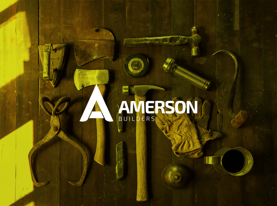 Amerson Builders Logo Display