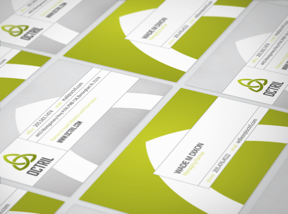 Octril Identity Business Cards