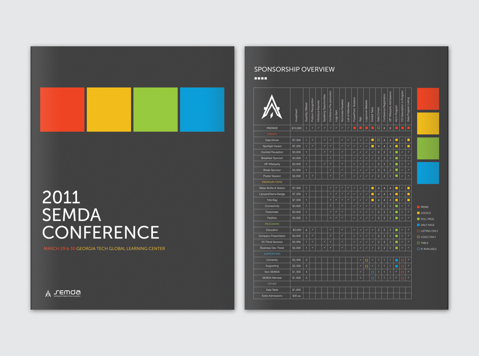 Semda Conference Brochure Cover